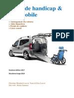Guide Handicap et Automobile 2018
