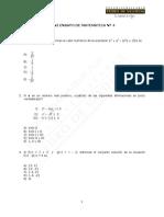 217-Miniensayo N° 4, Matemática
