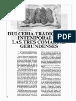 1. Dulcería tradicional intemporal de las tres comarcas gerundenses