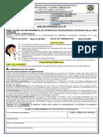 GUIA 3 PERIODO 1 GRADO 11° JM INFORMATICA PLANES DE MANTENIMIENTO DE ARTEFACTOS TECNOLÓGICOS