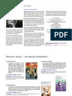 Romain Gary Dossier