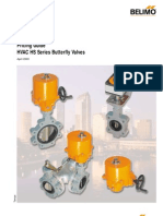 Belimo HS Series Butterfly Valves Selection Guide