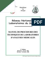 Manuel de Procedures RNL SN