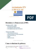 Crecimiento EN URUGUAY