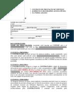 Contrato Serviços Jurídicos