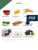 Farben Obst Gemuse Arbeitsblatter 134287