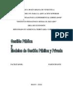 MODELOS DE gestion publica y privada