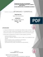 Monitoreo Subterraneo y Superficial Presentacion