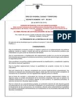 Decreto Unico Vivienda Actualizado Ultima Actualizacion 02-02-2021