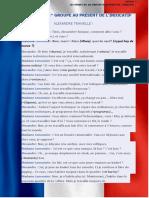 20.03 LES VERBES DU 1er GROUPE AU PRÉSENT DE LINDICATIF