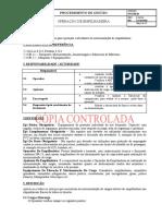 PO-EM-01 (REV 006) OPERAÇÃO DE EMPILHADEIRA