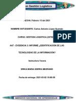 Evidencia 3 Informe Identificación de las tecnologías de la información