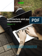 Enterprise Management, Architecture and System Requirements V12 Final