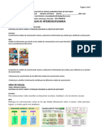 guia # 1 interdisciplinaria CASTELLANO E INGLES