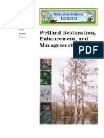 USDA Wetland Restoration, Enhancement and Management
