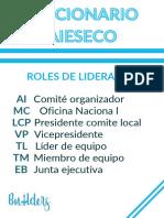 DICCIONARIO AIESECO