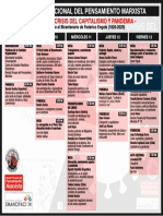 VI Jornada Nacional del Pensamietno Marxista [Programa]