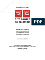PLAN DE EXPORTACION ARTESANIAS DE COLOMBIA