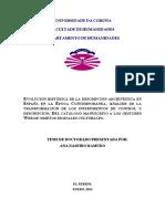 Evolución histórica de la descripción archivística en España en la época contemporánea - análisis de la transformación de los instrumentos de control y descripción