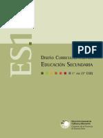 Contenidos curriculares 1ero Cs Sociales