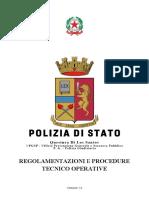 Regolamentazioni e Procedure Tecnico Operative v 2.0