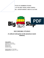 BIG SHIP RECORDING STUDIO GROUP RESEARCH