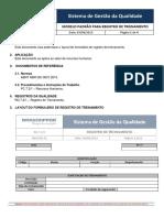 RQ 7.2_1 REV 01 - Modelo Padrão para Registro de Treinamento