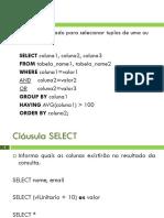 O_Comando_Select