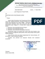 Surat Permohonan Penggunaan Tempat Prakik BLK Jember