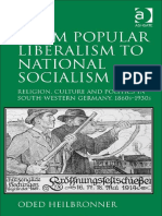 (MODELO) HEILBRONNER, Oded. From Popular Liberalism to National Socialism