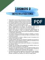 documental Cosmos episodio 2