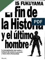 Fukuyama El Fin de la Historia
