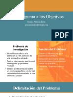 4. Problema y Objetivos