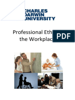 CDU - Professional Ethics in the Workplace 2014