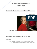 HISTÓRIA DA MAÇONARIA VI R00
