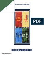les quatres éléments Arts