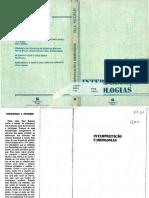 RICOEUR, Paul. Interpretação e Ideologias