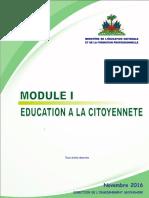 Education à la citoyenneté - Nouveau Secondaire (I,II,III, IV)