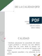 CASA DE LA CALIDAD QFD