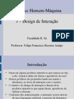 3 - Design de Interação