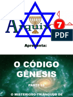 61 - O CÓDIGO GÊNESIS - PARTE 16