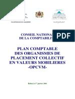 Plan comptable des OPCVM 2015