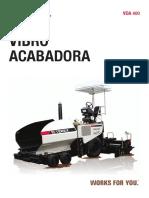 Vibro Acabadora Vda400
