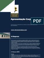 Apresentação - Structure Value, Lda