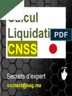 Calcul Liquidation CNSS