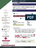 Ficha Tcnica - CALCULATE Mago de La Modificacin de Contextos