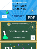 Routinary Activities VI-Einsteinium