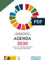 Plan de Accion Para La Implementacion de La Agenda 2030