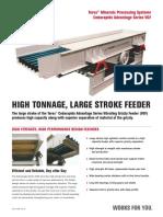 Terex Vibrating Feeder Advantage-Series-VGF-Flyer