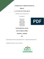 PRINCIPIO DE PREDICACION Y COMUNICACIÓN EFECTIVA GUIA No.3